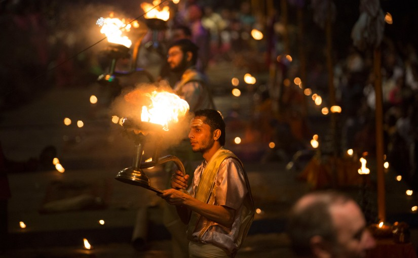 Mesmerising Ganga Arti..